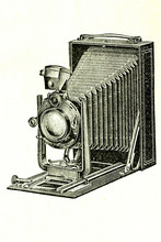 Photographic Camera Goerz. Ant...