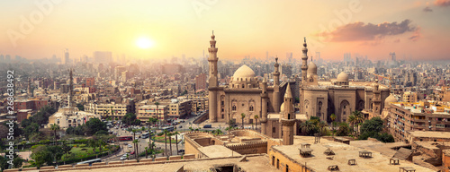 Canvas Prints Old building Sultan Hassan in Cairo