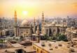 Leinwanddruck Bild Mosque Sultan in Cairo