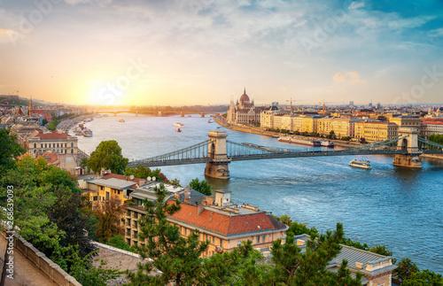 Fototapeta premium zabytki Budapesztu