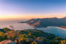 Sunrise Landscape Of Ocean Coa...