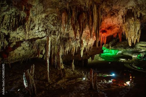 light design in Prometheus Cave