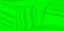 Green UFO Neon Background For Packaging Template Or Wallpaper. The Texture Of The Marble Fashion Hue With Stripes Waves And Divorces.