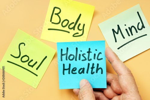 Photo  Cards holistic health, mind, body and soul.