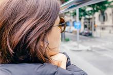 Tourist In A Tour Bus