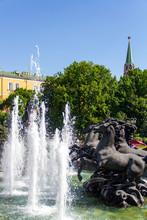 Fountain At Alexander Garden, ...