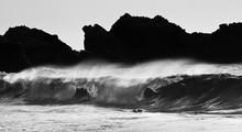 Waves Crashing In Big Sur California