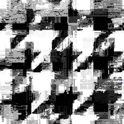 Abstract seamless pattern with imitation of a grunge dirty texture Wallpaper Mural