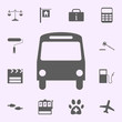 bus stop icon. signs of pins icons universal set for web and mobile