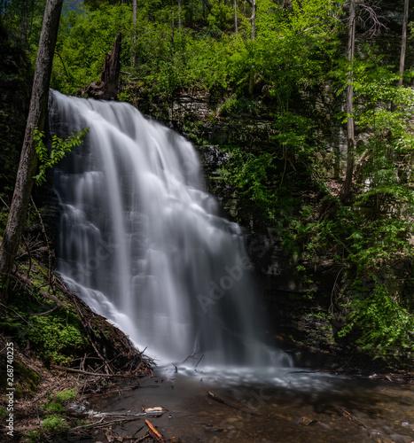 Waterfall in Pennsylvania - Bushkill Falls - Poconos
