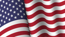 America Flag Background Collec...
