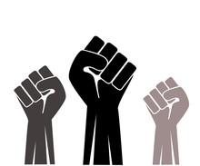 Fist Up Icon Vector Illustration