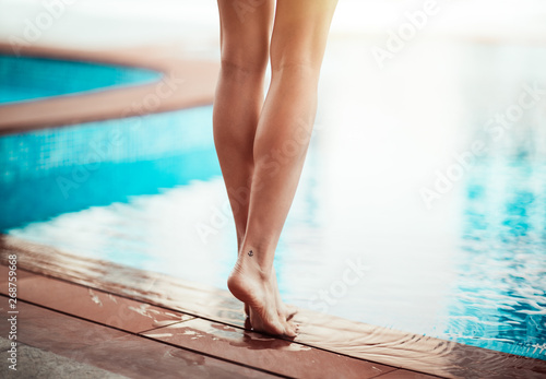 Foto op Canvas Spa Summer vacation concept