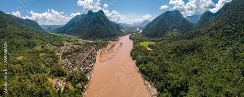 Foto  muang ngoi northern of laos