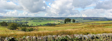 View Of The Yorkshire Dales Near Summerbridge, North Yorkshire, United Kingdom