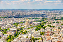 Paris Cityscape From Above