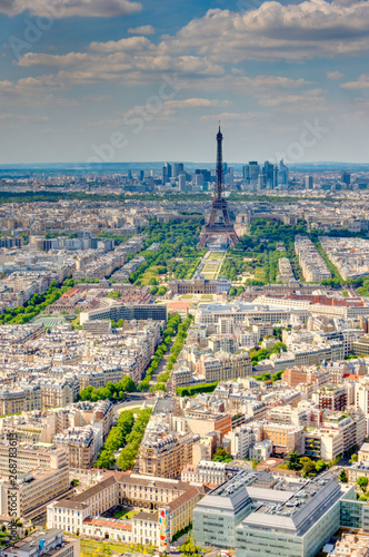 Photo Paris cityscape from above