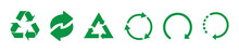 Recycle Green Vector Icons. Re...