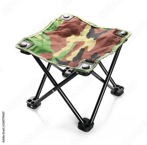 Pleasant Folding Stool Chair For Camping In Camouflage Pattern Inzonedesignstudio Interior Chair Design Inzonedesignstudiocom