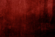 Red Stained Grungy Background Or Texture