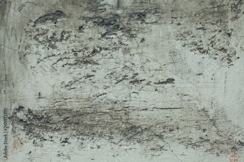 Foto auf AluDibond Alte schmutzig texturierte wand Old gray textures wall background. Perfect background with space.