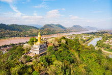 The Golden Pagoda Of Wat Chom ...