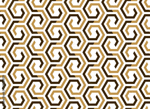 Photo Abstract geometric pattern with stripes, lines