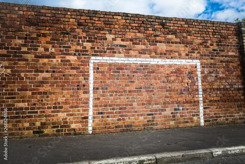 Fényképezés Goalpost Wall