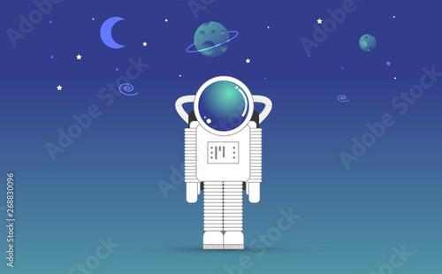 astronauta, spazio, universo, connessione, etere, wifi, Tapéta, Fotótapéta