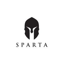 Spartan Helmet Warrior Icon Lo...