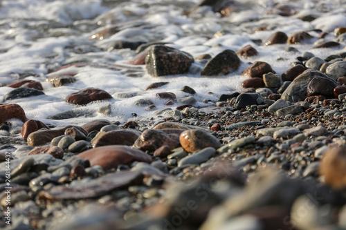 Fotografía  Stones by the sea, Gotland Sweden.