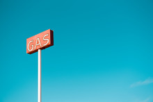 Gas Station Sign