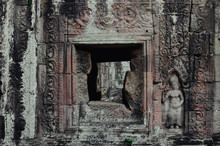 Bas-relief Details In Angkor T...