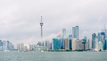 Toronto Skyline And Waterfront...