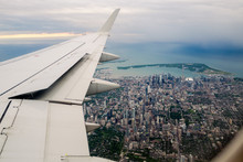 Toronto And The Wing Of An Air...