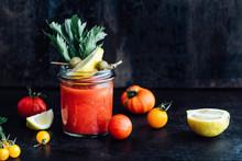 Drink: Fresh Spicy Tomato Juic...
