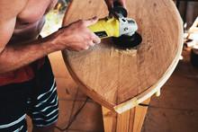 Making A Wooden Surfboard