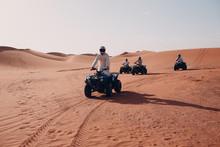 Quad Bike Ride Through The Desert.