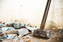 A Hammer Used To Demolish The ...