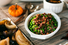 Thanksgiving: Green Peas With Pancetta And Shallots