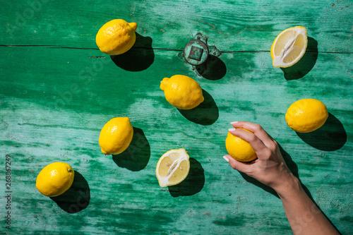 Fresh lemons - 268867249