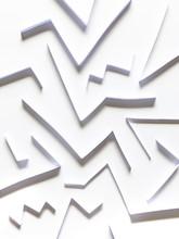 Paper Zig-Zag Pattern
