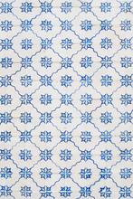 Lisbon Retro Tile Fasade Backg...