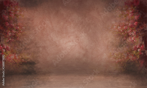 Background Studio Portrait Backdrops Canvas Print