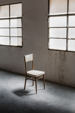 Chair In Antique Factory