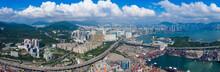 Drone Fly Over Kwai Chung Carg...