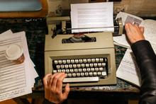 Female Writer Working