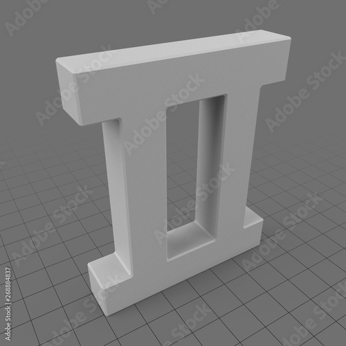 Roman Numeral 2 Buy This Stock 3d Asset And Explore Similar Assets