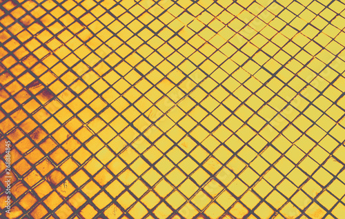 Beautiful Closeup Textures Abstract Tiles And Black Gold And