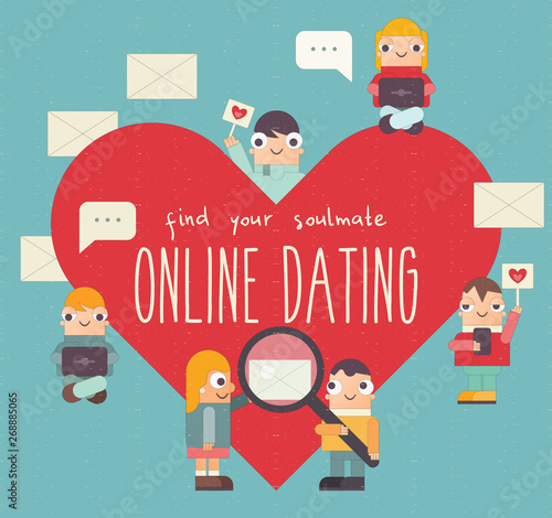 how to start an online dating email
